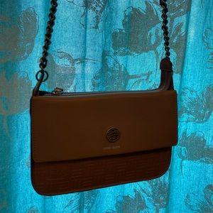 NWT Anne Klein Mauve shoulder crossbody bag